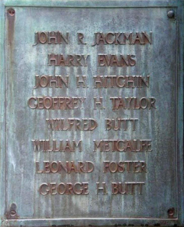 War Memorial - Long Preston, Yorkshire, England