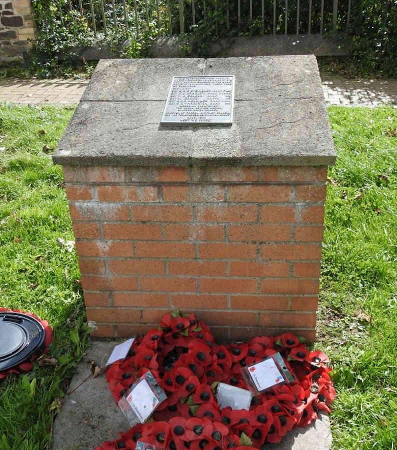 War Memorial - Dinas Cross, Pembrokeshire, Wales