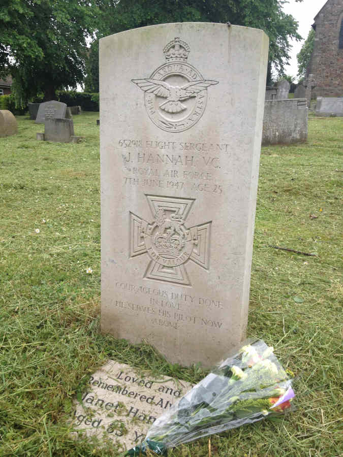 The grave of John Hannah