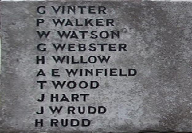 War Memorial - Skelton-in-Cleveland, North Yorkshire, England