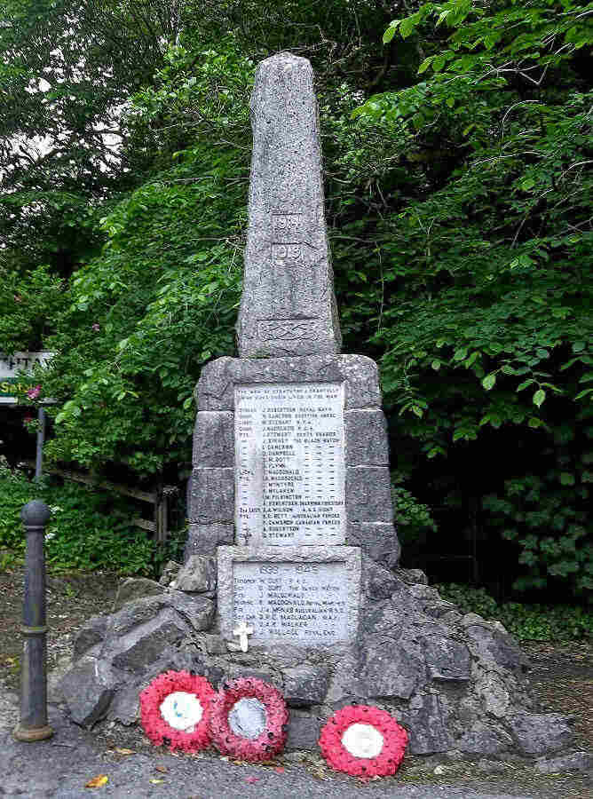 War Memorial WW I and WW II