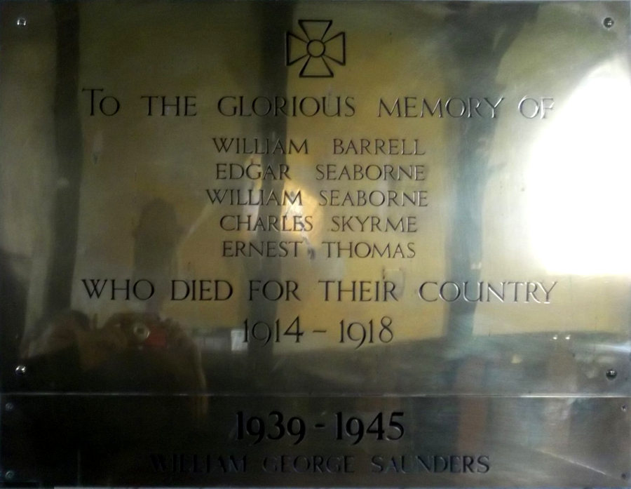 War Memorial - Vowchurch, Herefordshire, England