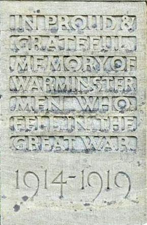 Inscription WW I