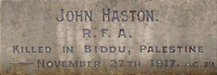 John Haston