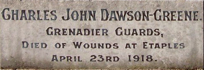 Charles John Dawson-Greene