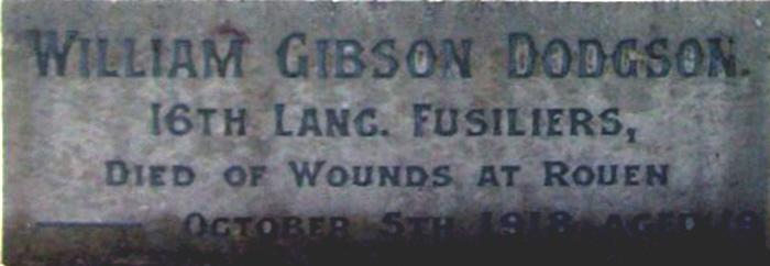 William Gibson Dodgson