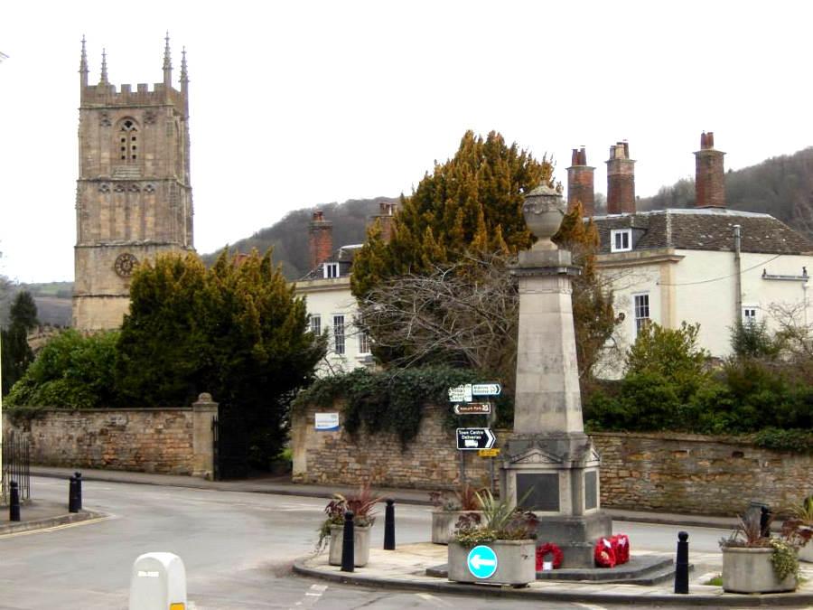 War Memorial - Wotton under Edge, Gloucestershire, England