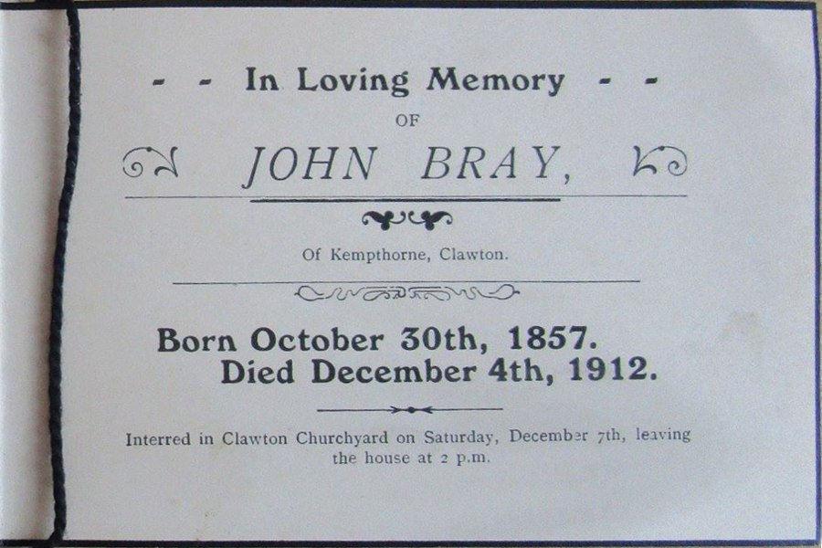 Memory Card - John Bray