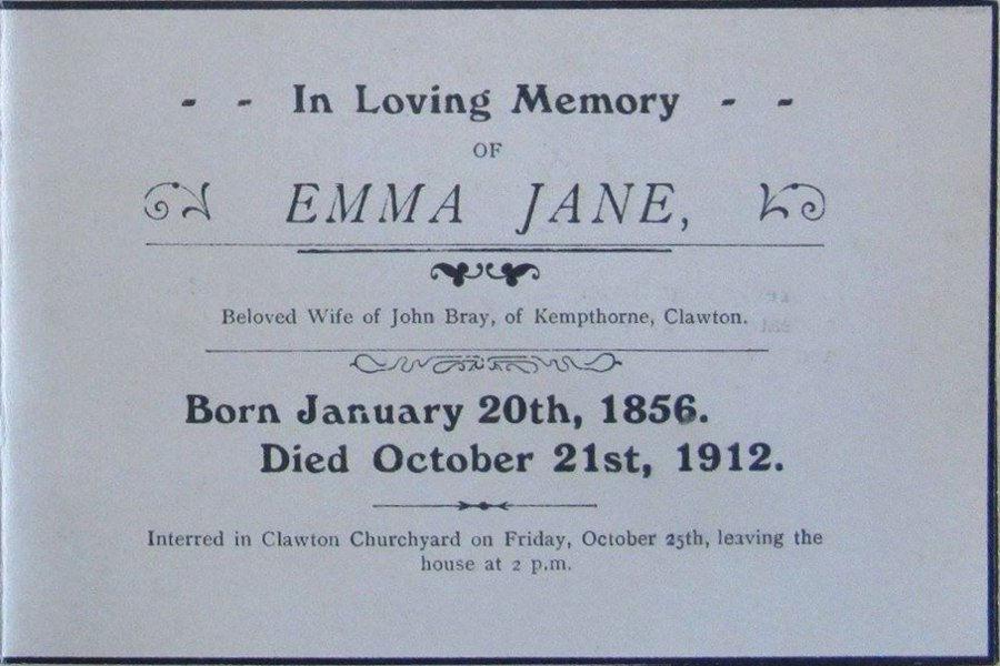 Memory Card - Emma Jane Bray