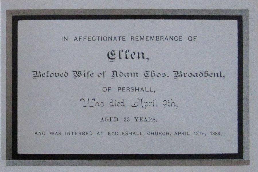 Memory Card - Ellen Broadbent