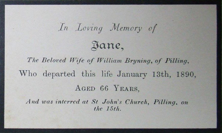 Memory Card - Jane Bryning