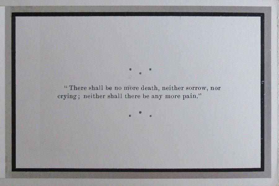 Memorial Card - Mary Ann Cope