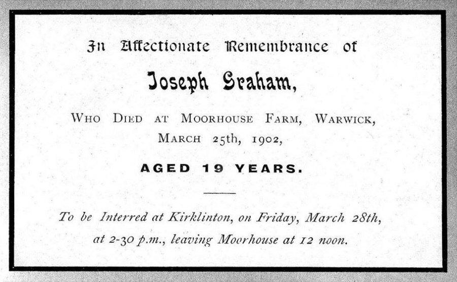 Memory Card - Joseph Graham