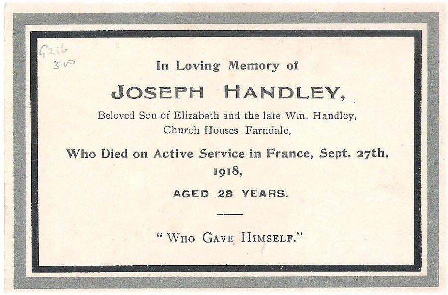 Memory Card - Joseph Handley