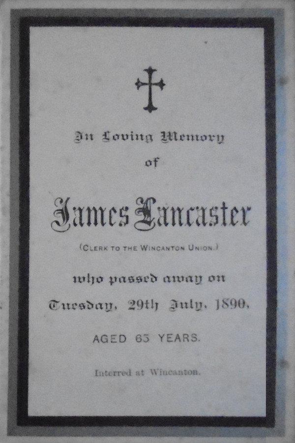 Memory Card - James Lancaster