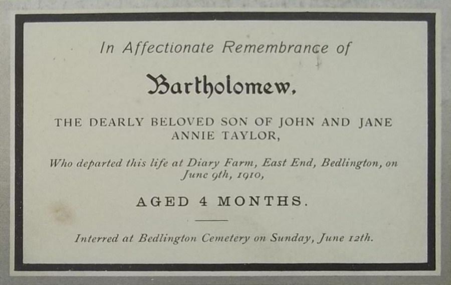 Memory Card - Bartholomew Taylor