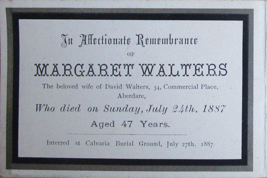 Memory Card - Margaret Walters