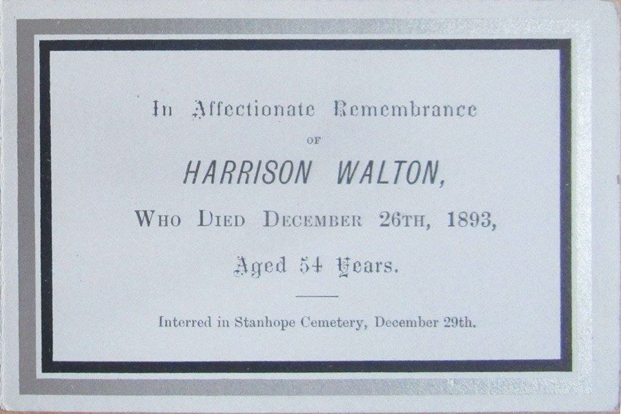 Memory Card - Harrison Walton