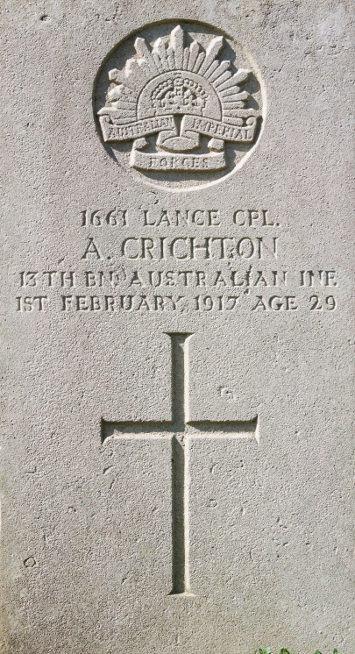 Lance Corporal Alexander Crichton