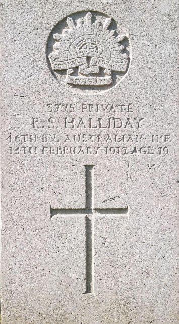 Private Robert Stanley Halliday