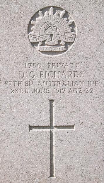 Private Douglas George Richards
