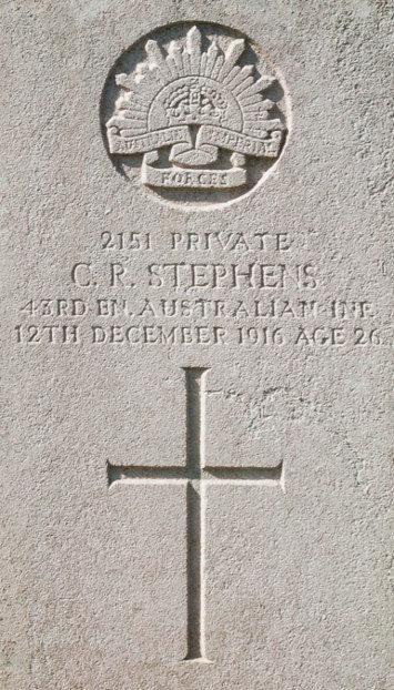 Private Claude R. Stephens