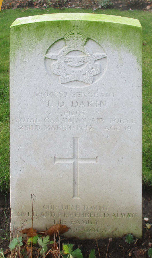 Sergeant Thomas Dunbar Dakin