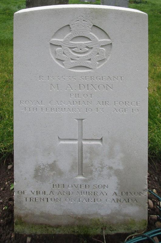 Sergeant Murray Allen Dixon