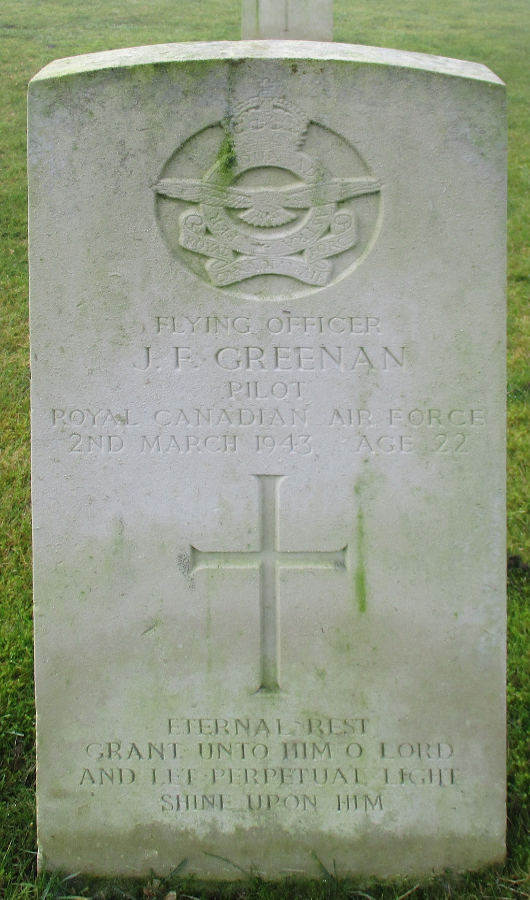 Flying Officer John Ferguson Greenan