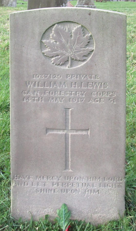 Private William Henry Lewis