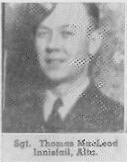 Flight Sergeant Thomas Norman MacLeod