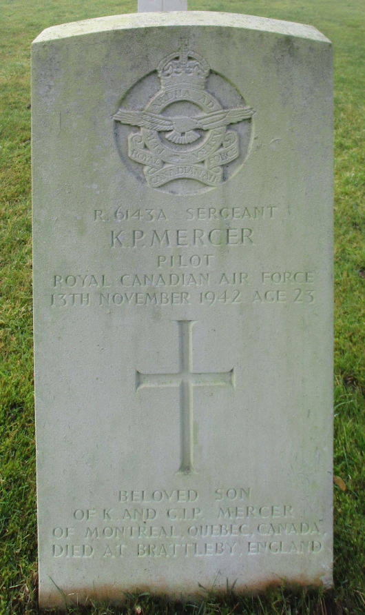 Sergeant Keith Paterson Mercer