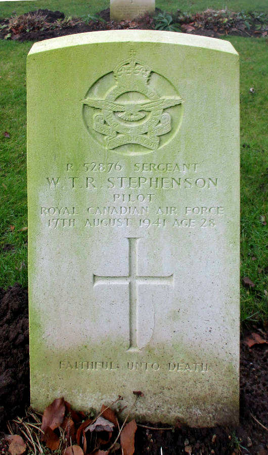 Sergeant William Thomas Ross Stephenson