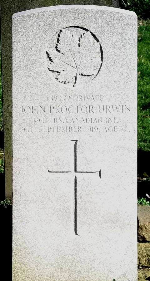 Private John Proctor Urwin