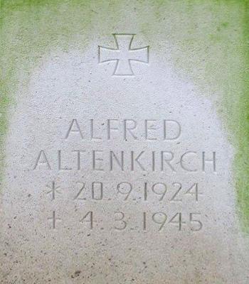 Unteroffizier Alfred Altenkirch