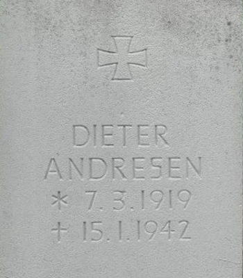 Lieut. at Sea Dieter Andresen