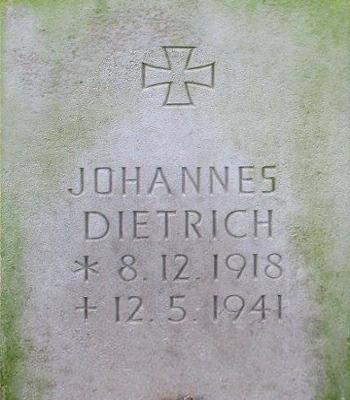 Gefreiter Johannes Dietrich