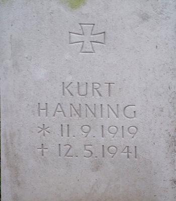 Leutnant Kurt Hanning