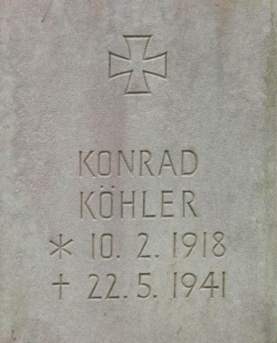 Obergefreiter Konrad Köhler