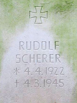 Unteroffizier Rudolf Schereer
