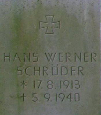 OLt. Hans Werner Schröder
