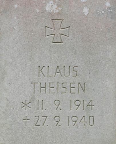 Unteroffizier Klaus Theisen