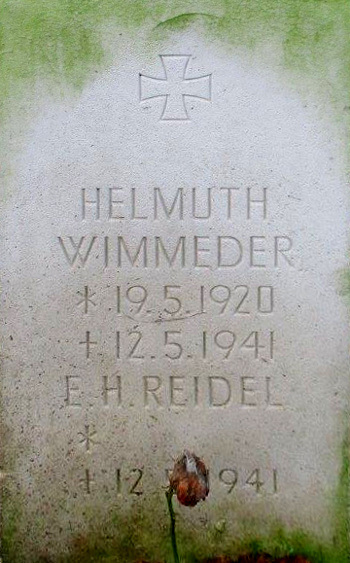 Gefreiter Helmuth Wimmeder and E. H. Reidel