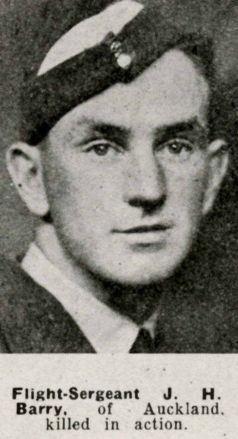 Sergeant James Harold Barry