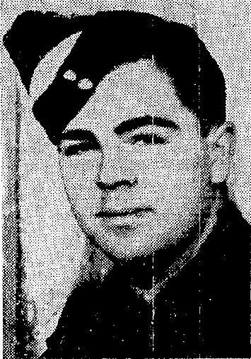 Flight Sergeant Albert William Conrad Gledhill